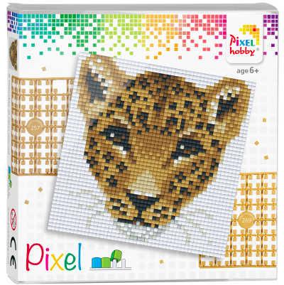 Pixelhobby 4 quadrate Leopard