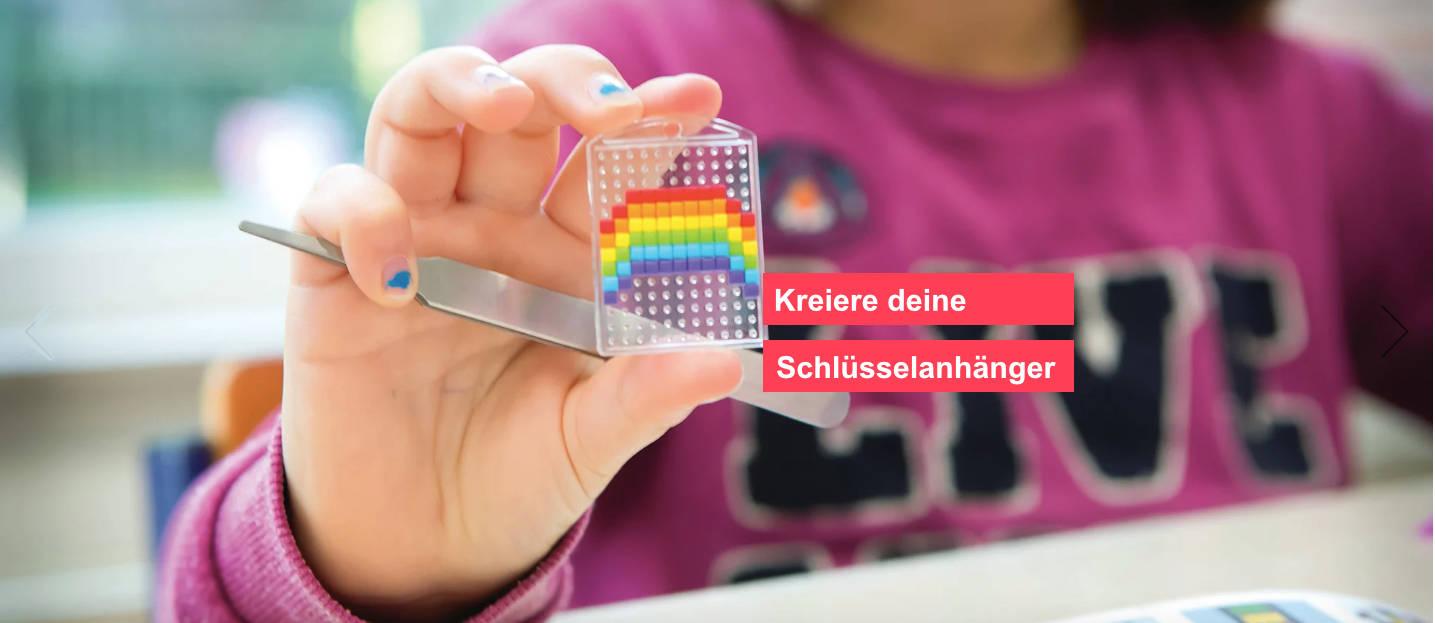 Pixelhobby Schlüsselanhänger pixeln