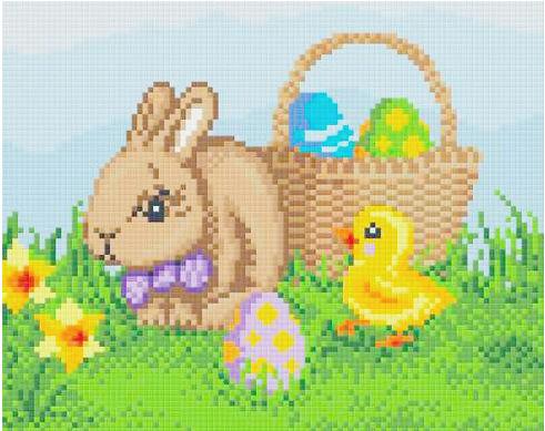 Ostern Pixeln