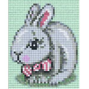Pixelvorlage Osterhase