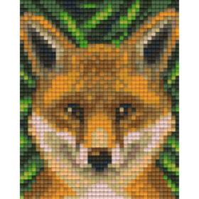Pixelvorlage Fuchs