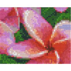Pixelvorlage Blume