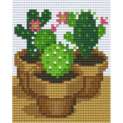 Pixel Vorlage Kaktus