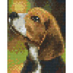 Pixelvorlage Hund