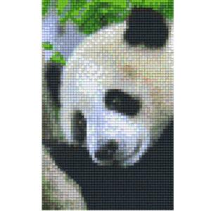 Gratis Pixel Vorlage Panda