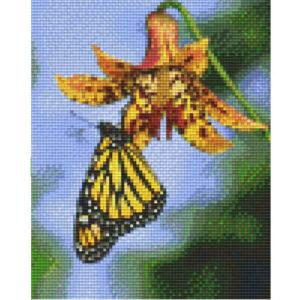 Pixel Vorlage Blumen