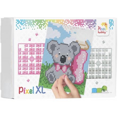 XL Pixel Bild Bär