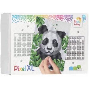 XL Pixel Bild Panda