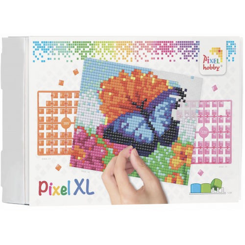 XL Pixel Bild Schmetterling