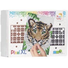 XL Pixel Bild Tiger
