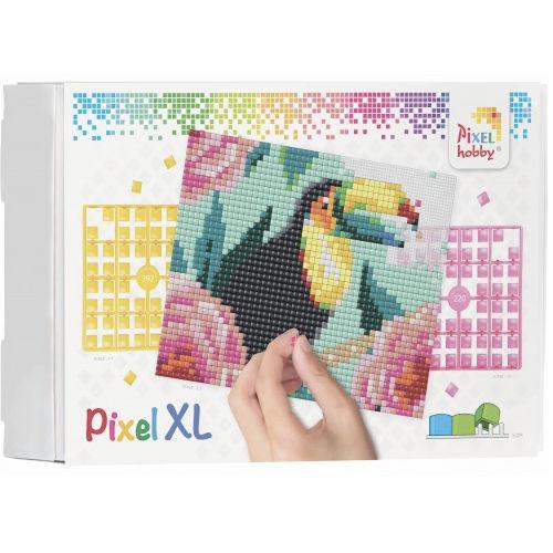 XL Pixel Bild Tukan