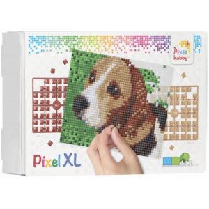 XL Pixel Bild Beagle