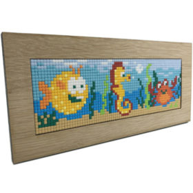 Ein sehr schöner Holzrahmen für Pixelhobby Bilder