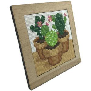 Pixelhobby Holzrahmen 4 quadrate