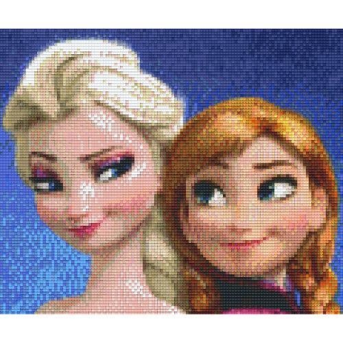 Frozen Eiskönigin Pixelbild