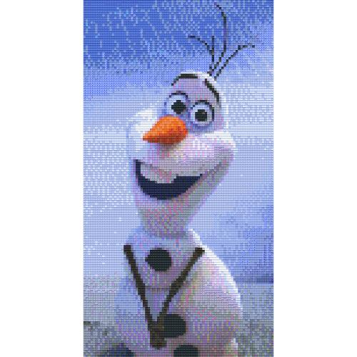 Frozen Olaf Pixelbild