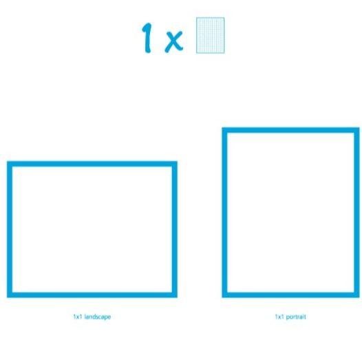 Pixelhobby Bild mit 1 Platte