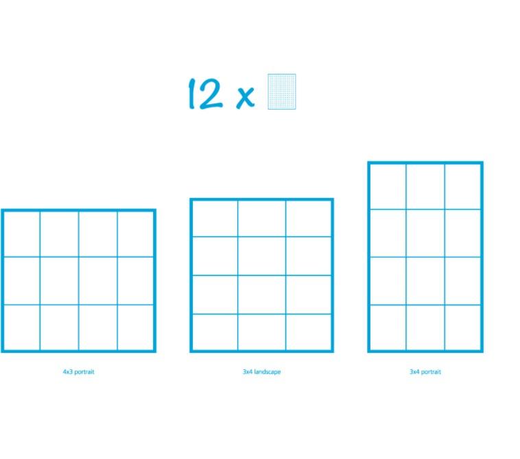 Pixelhobby Bild mit 12 Platten