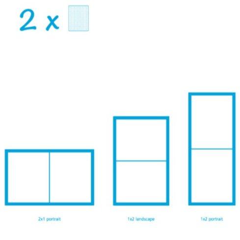 Pixelhobby Bild mit 2 Platten