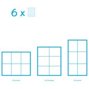 6 Basisplatten