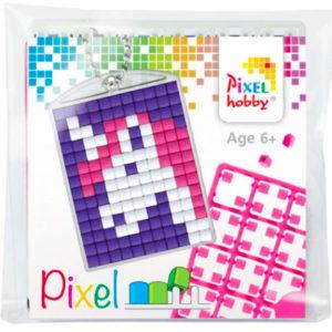 Pixelhobby Schlüsselanhänger Einhorn