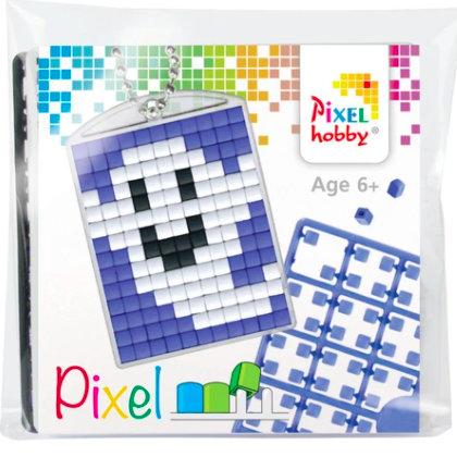 Pixel Medaillon Geist