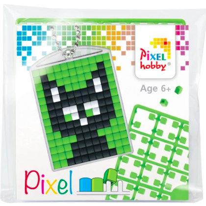 Pixelhobby Schlüsselanhänger Katze