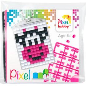Pixel Medaillon Kuh