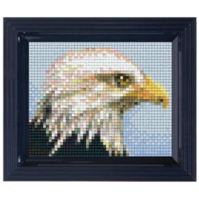 Pixel Geschenkset im Rahmen Adler