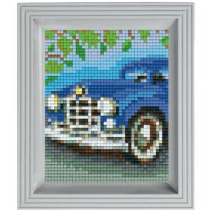 Pixel Geschenkset im Rahmen Oldtimer
