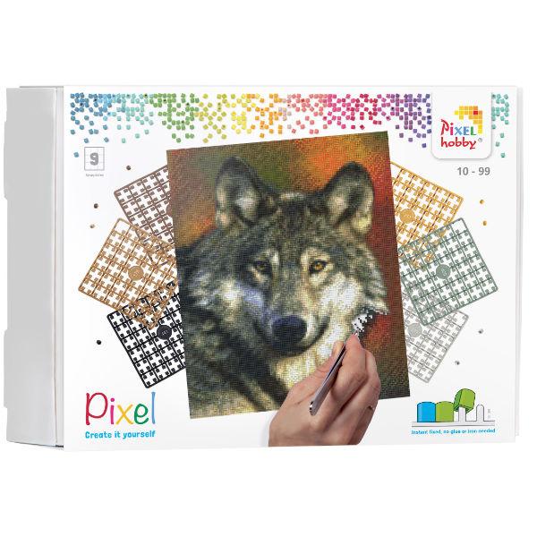 Pixel Geschenk Set 9 Platten