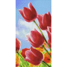 Pixelbild Blume 6 Basisplatten
