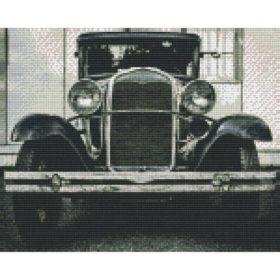 Pixelhobby Bild Vorlage Oldtimer