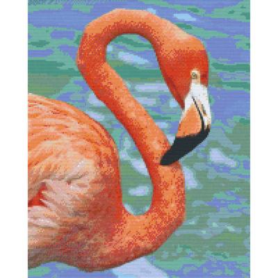 Pixel Hobby Bild Flamingo 16 Platten