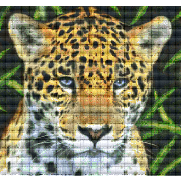 Pixelhobby 12 Platten Leopard