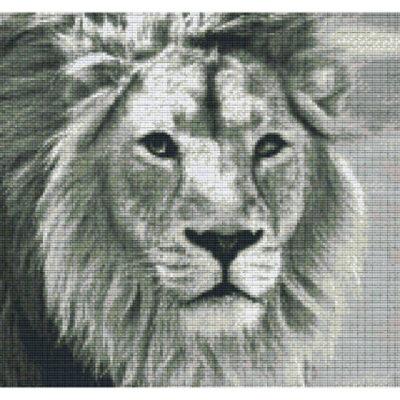 Pixelvorlage 12 Platten Löwe