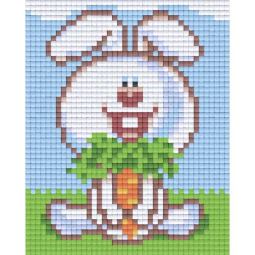 Pixel Bild Hase 801344