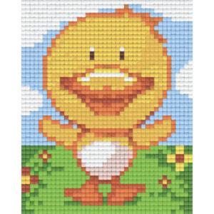 Pixel Bild Hase 801345