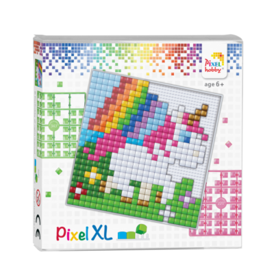 XL Pixel Einhorn Baby