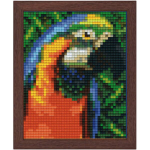 Pixel Sets mit Holzrahmen