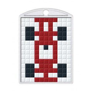 Pixelhobby Schlüsselanhänger Set Auto