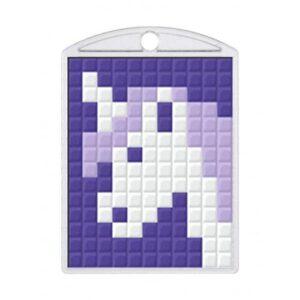 Pixelhobby Schlüsselanhänger Set Einhorn