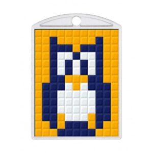 Pixelhobby Schlüsselanhänger Set Eule