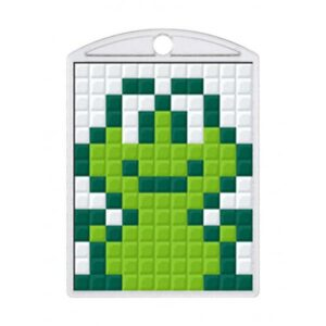 Pixelhobby Schlüsselanhänger Set Frosch