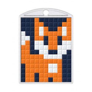 Pixelhobby Schlüsselanhänger Set Fuchs