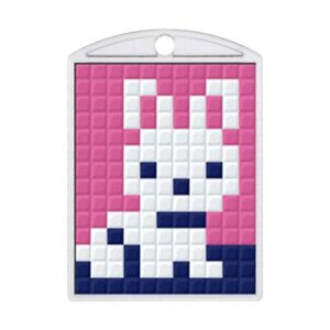 Pixelhobby Schlüsselanhänger Set hase
