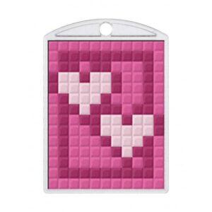 Pixelhobby Schlüsselanhänger Set Herz