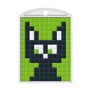 Pixelhobby Schlüsselanhänger Set Katze