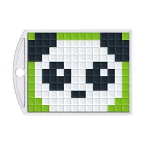 Pixelhobby Schlüsselanhänger Set Panda