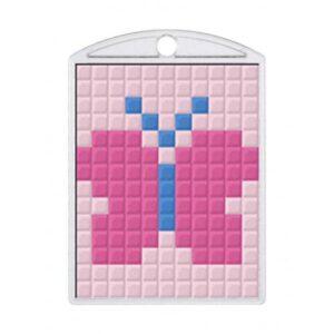 Pixelhobby Schlüsselanhänger Set Schmetterling